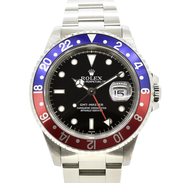 ロレックス ROLEX GMTマスター1 16700 A番 赤青ベゼル 40mm USED 中古