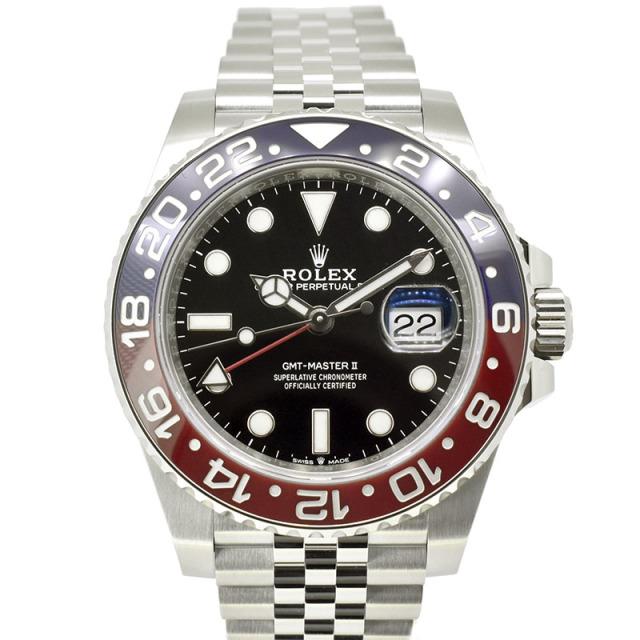 ロレックス ROLEX GMTマスター2 126710BLRO ブルー/レッドベゼル 40mm 国内正規品 未使用品