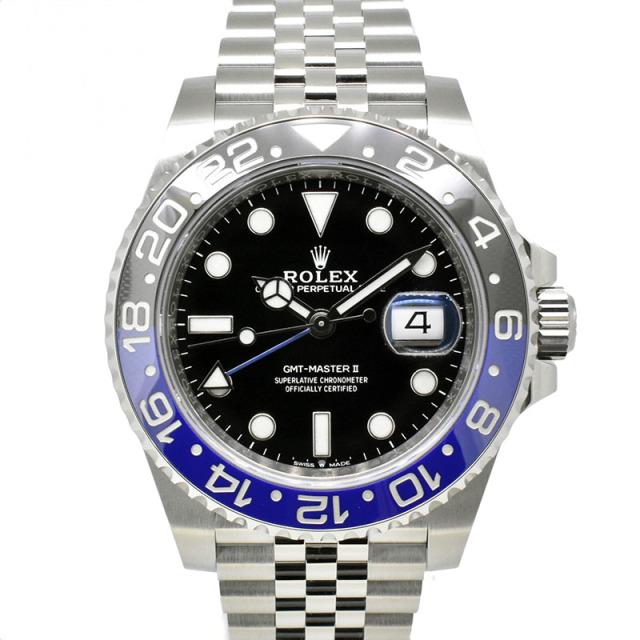 ロレックス ROLEX GMTマスター2 126710BLNR ブルー/ブラックベゼル 40mm 国内正規品 未使用品