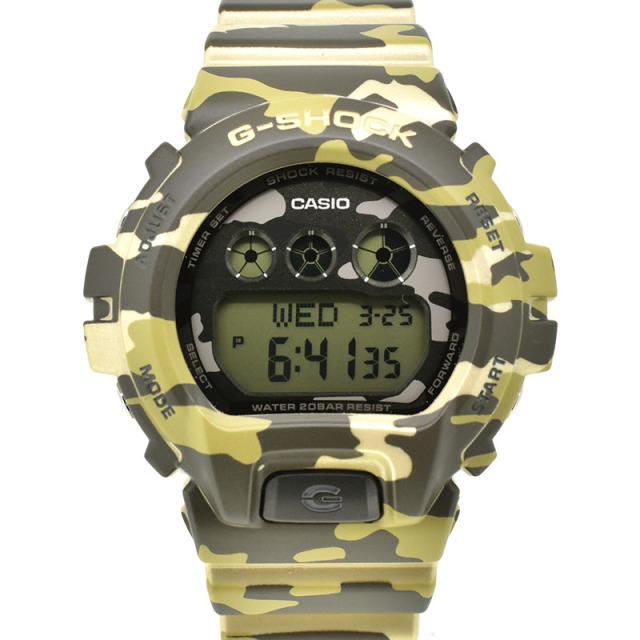 カシオ CASIO Gショック GMD-S6900CF-3JR カモフラージュ 48.8×46×12.7mm 未使用品