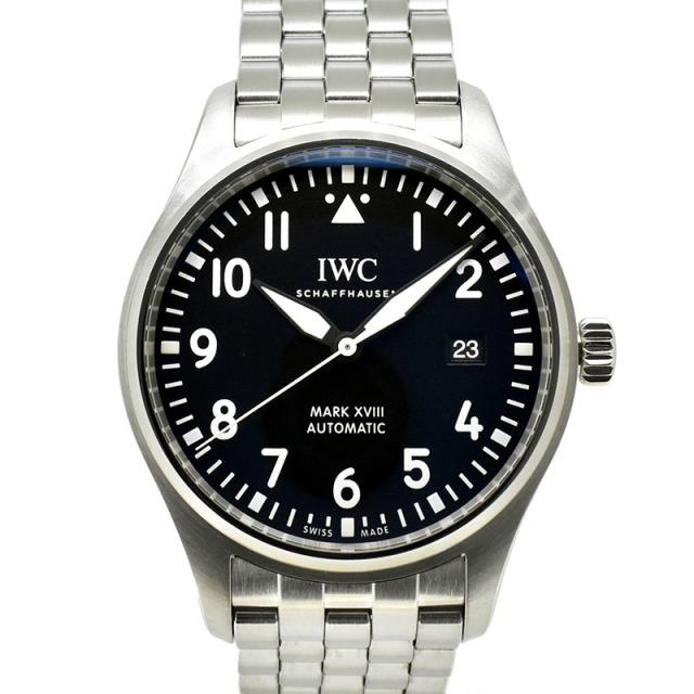 IWC パイロットウォッチ マーク18 IW327011 ブラック 40mm USED 中古