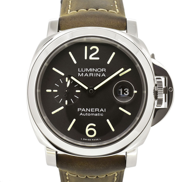 パネライ PANERAI ルミノールマリーナ アッチャイオ PAM01104 44mm U番 USED 中古
