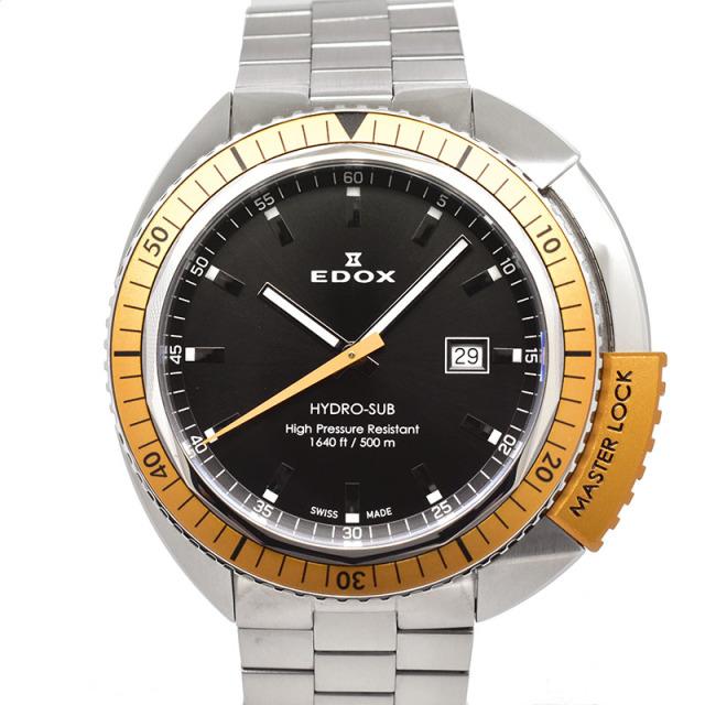 エドックス EDOX ハイドロサブ 53200-3OM-NIN 46mm クォーツ USED 中古