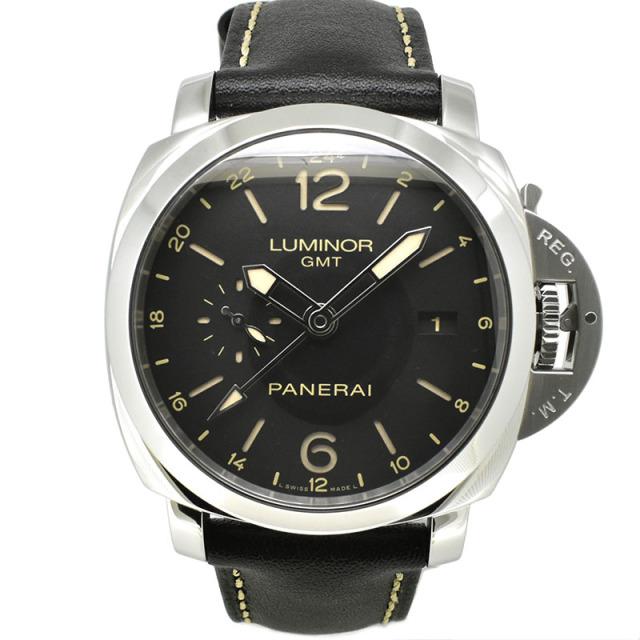 パネライ PANERAI ルミノール1950 3デイズ GMT 24H アッチャイオ PAM00531 44mm Q番 USED 中古