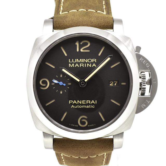 パネライ PANERAI ルミノールマリーナ1950 3デイズ オートマティック アッチャイオ PAM01312 44mm T番 USED 中古