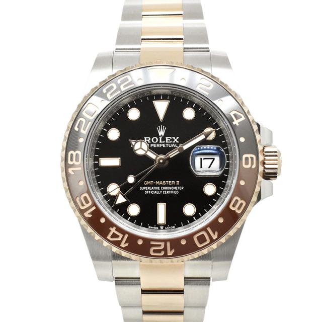 ロレックス ROLEX GMTマスター2 126711CHNR ブラウン/ブラックベゼル 40mm 未使用品