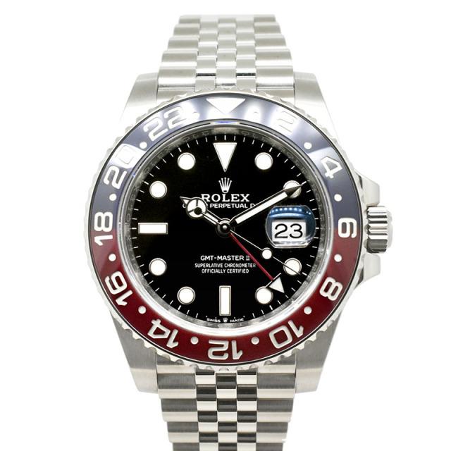 ロレックス ROLEX GMTマスター2 126710BLRO ブルー/レッドベゼル 40mm USED 中古