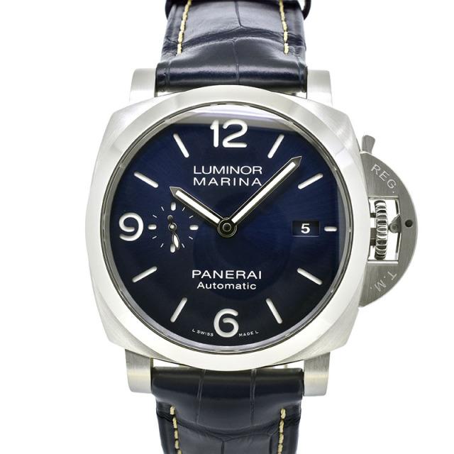 パネライ PANERAI ルミノールマリーナ PAM01313 44mm ブルー W番 USED 中古