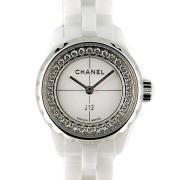 シャネル CHANEL J12 XS H5237 19mm フランジダイヤ レディース ホワイトセラミック 新品
