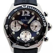 コルム CORUM バブル クロノグラフ ダイブ 28518020 ブラック 新品