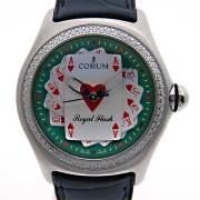 コルム CORUM バブル ロイヤルフラッシュ ベゼルダイヤ 082.177.20 2006年限定 新品
