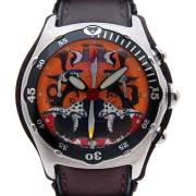 コルム CORUM バブル クロノグラフ タイガー 2004年限定 45mm SS 新品