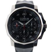 コルム CORUM アドミラルズカップ クロノグラフ 753.671.20 F371 AN52 44mm SS ブラック 新品