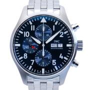 IWC パイロットウォッチ クロノグラフ プティ・プランス IW377717 ブルー 新品