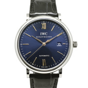 IWC ポートフィノ IW356523 SS 40mm ブルー 革ベルト 新品