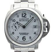 パネライ PANERAI ルミノールマリーナ 40mm PAM00051 ホワイト 自動巻き 300m防水 新品