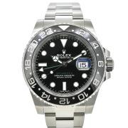 ロレックス ROLEX GMTマスター2 Ref.116710LN ブラック 新品