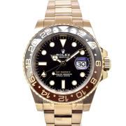 ロレックス ROLEX GMTマスター2 126715CHNR ブラウン/ブラックベゼル 40mm 18KERG 新品