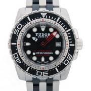 チューダー(チュードル) TUDOR ハイドロノート1200 25000 自動巻 SS ブラック 45mm 新品