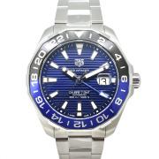 タグホイヤー TAG HEUER アクアレーサー キャリバー7 GMT WAY201T.BA0927 43mm 青黒ベゼル 新品