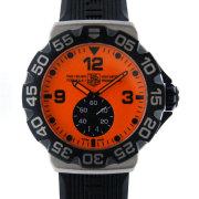 タグホイヤー TAG HEUER フォーミュラ1 WAH1012.FT6026 オレンジ ラバー 200m防水 クォーツ 新品