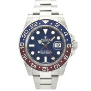 ロレックス ROLEX GMTマスター2 Ref.116719BLRO 18KWG 赤/青ベゼル ブルー 40mm USED 中古