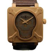 ベル&ロス BELL&ROSS スカルブロンズ BR01-92-SKULL-BR 世界500本限定 46mm 未使用品