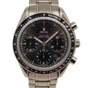 オメガ OMEGA スピードマスターオートマティックデイト 323.30.40.40.06.001 グレー/ブラック USED 中古