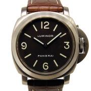 パネライ PANERAI ルミノールベース PAM00055 C番 44mm 手巻き チタン USED 中古
