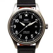 IWC パイロットウォッチ マーク18 IW327001 ブラック 革 USED 中古