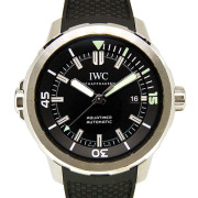 IWC アクアタイマー オートマティック IW329001 自動巻 ブラック USED 中古