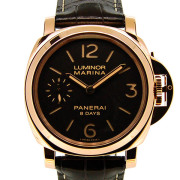 パネライ PANERAI ルミノールマリーナ 8デイズ PAM00511 44mm レッドゴールド 手巻き USED 中古