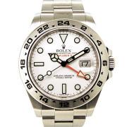 ロレックス ROLEX エクスプローラー2 ホワイト Ref.216570 GMT ランダム番 USED 中古