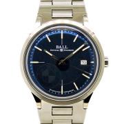 ボールウォッチ BALL BALL for BMW クラシック ブルー NM3010D-SCJ-BE 40mm SS USED 中古
