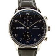 IWC ポルトギーゼ クロノグラフ IW371447 ブラック 41mm 未使用品