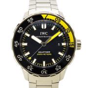 IWC インターナショナルウォッチカンパニー アクアタイマー IW356808 SS 自動巻 2000m防水 44mm USED 中古