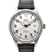IWC パイロットウォッチ マーク18 IW327002 40mm シルバー 革 USED 中古