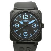 ベル&ロス BELL&ROSS BR03-92 ブルー PVD 42mm 自動巻 USED 中古
