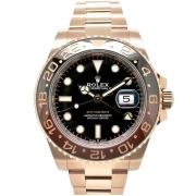 ロレックス ROLEX GMTマスター2 126715CHNR ブラウン/ブラックベゼル 40mm 18KERG 国内正規品 未使用品