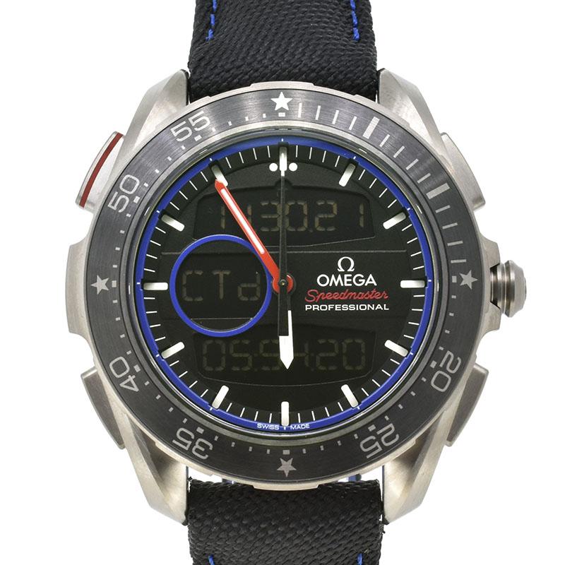オメガ OMEGA スピードマスター スカイウォーカー X-33 レガッタ クロノグラフ 318.92.45.79.01.001 世界2017本限定 45mm 新品