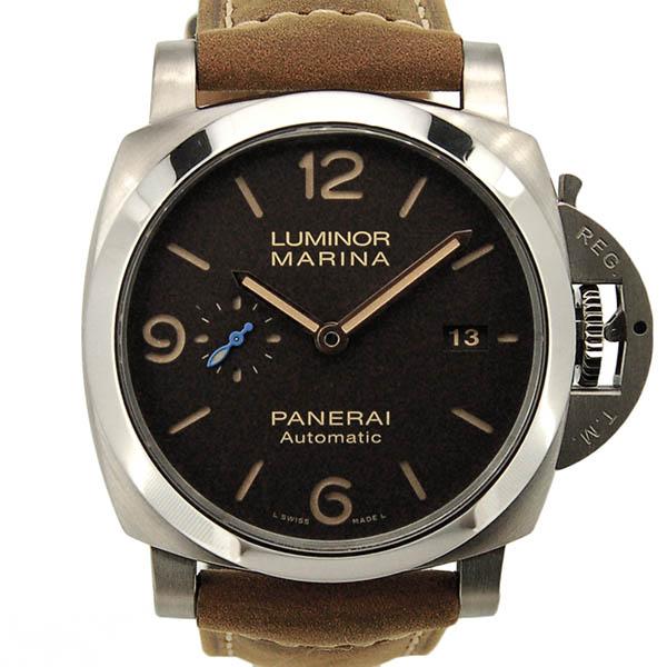パネライ PANERAI ルミノール1950 3デイズ チタニオ PAM01351 44mm 自動巻 チタン 革 新品