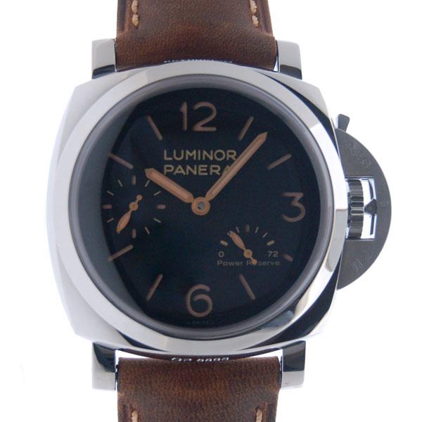 パネライ PANERAI ルミノール1950 3デイズ パワーリザーブ PAM00423 47mm 手巻き ブラック 新品