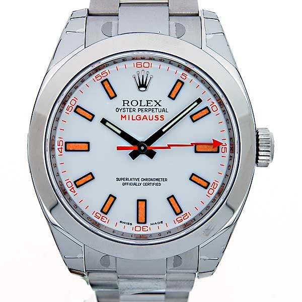 ロレックス ROLEX ミルガウス 116400 ホワイト 新品