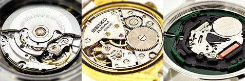 腕時計の内部イメージ