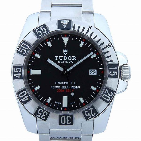 チューダー(チュードル) TUDOR ハイドロノート2 20040 自動巻き 200m防水 ブラック 3列ブレス  新品 日本ロレックスで修理可能