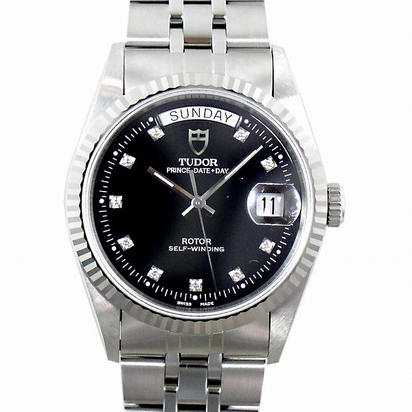 チューダー(チュードル) TUDOR プリンスデイトデイ 76214G 10Pダイヤ 自動巻き 定番モデル 新品