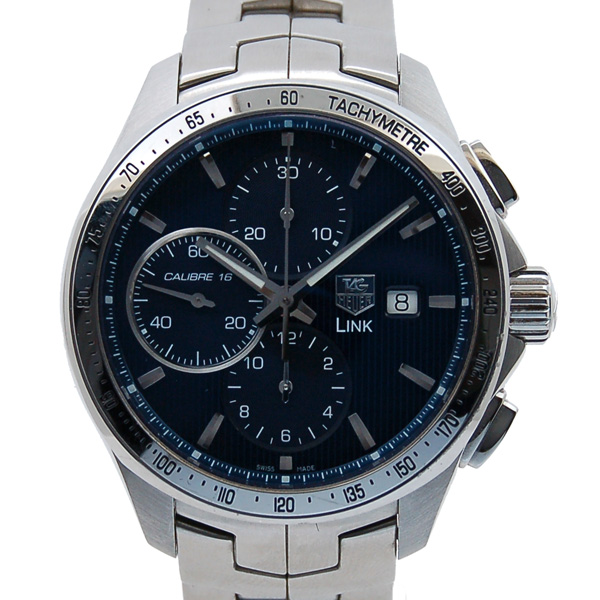 check out bd2e0 0298e タグホイヤー TAG HEUER リンク クロノグラフ レオナルド ...