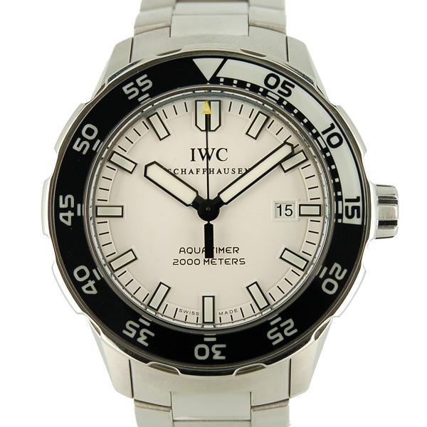 IWC インターナショナルウォッチカンパニー アクアタイマー IW356805 SS 自動巻 2000m防水 USED 中古