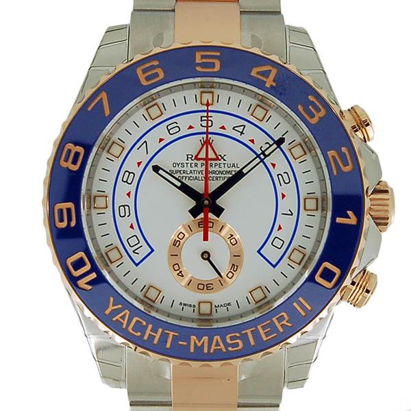 ロレックス ROLEX ヨットマスター2 116681 44mm ホワイト 未使用品