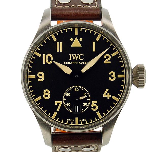 IWC ビッグパイロットウォッチ ヘリテージ 8デイズ IW510301 ブラック 48mm 世界1000本限定 USED 中古
